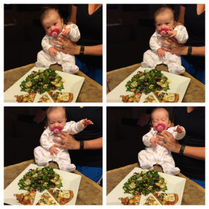 because babies+food=life
