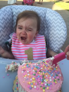 Doesn't like cake. Sad day for all.